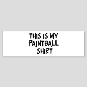 My Paintball Bumper Sticker