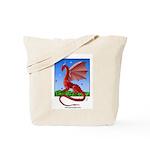 Dragonfield Tote Bag