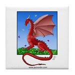 Dragonfield Tile Coaster