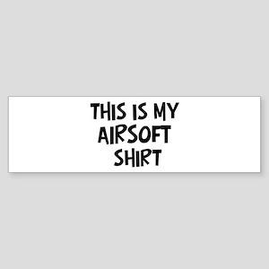 My Airsoft Bumper Sticker