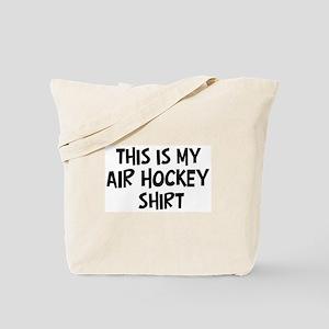 My Air Hockey Tote Bag