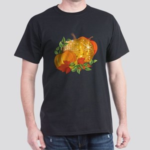 Fall Pumpkins Dark T-Shirt
