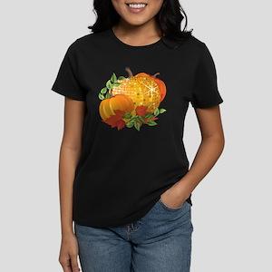 Fall Pumpkins Women's Dark T-Shirt
