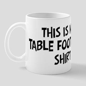 My Table Football Mug