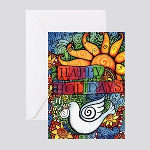 Happy Holidays Christmas Greeting Cards (Pk of 20)
