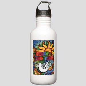 Happy Holidays Christm Stainless Water Bottle 1.0L