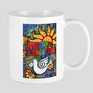 Happy Holidays Christmas Peace D 11 oz Ceramic Mug