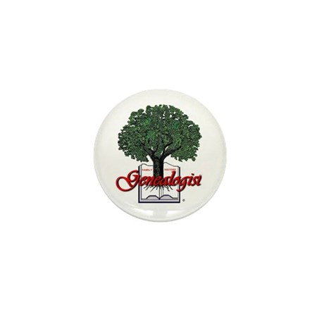 Genealogist Mini Button (100 pack)