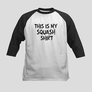 My Squash Kids Baseball Jersey