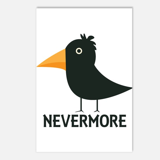 Nevermore Raven Postcards (Package of 8)
