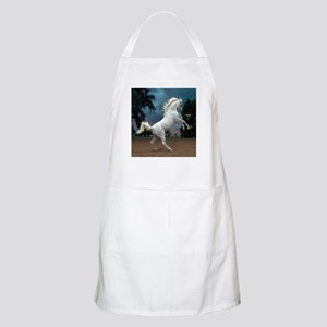 The White Stallion BBQ Apron