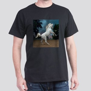 The White Stallion Dark T-Shirt