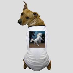 The White Stallion Dog T-Shirt