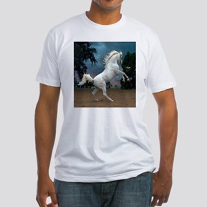 The White Stallion Fitted T-Shirt