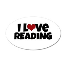 I Love Reading Wall Decal