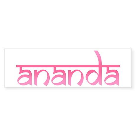 Ananda Bumper Sticker