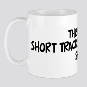 My Short Track Speed Skating Mug