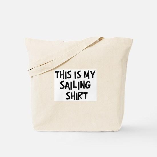 My Sailing Tote Bag