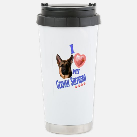 I love my German Shepherd 3 Travel Mug