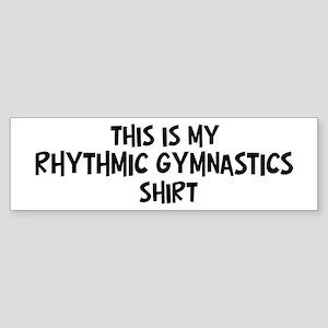 My Rhythmic Gymnastics Bumper Sticker