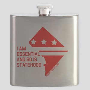 I AM ESSENTIAL-RED Flask