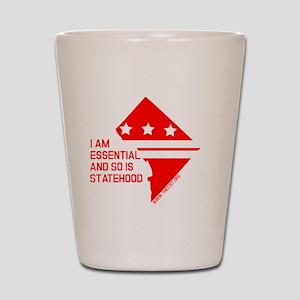 I AM ESSENTIAL-RED Shot Glass