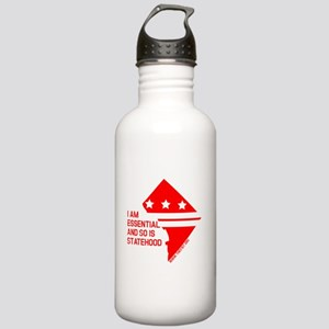 I AM ESSENTIAL-RED Water Bottle