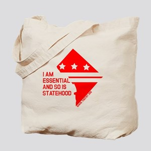 I AM ESSENTIAL-RED Tote Bag