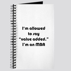 Value Added MBA Journal