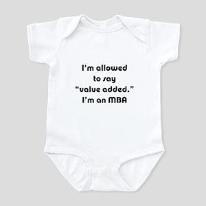 Value Added MBA Infant Bodysuit