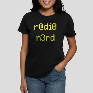 r@di0 n3rd Women's Dark T-Shirt