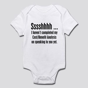 Cost Benefit Analysis Infant Bodysuit