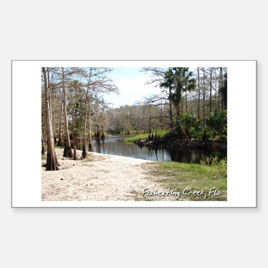 Fisheating Creek -Big Oak Rectangle Decal