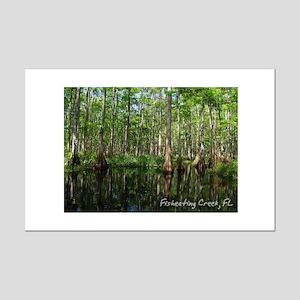 Fisheating Creek- Cypress Mir Mini Poster Print