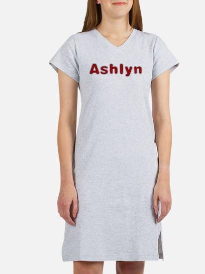 Ashlyn Santa Fur Women's Nightshirt