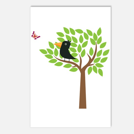 Crow In A Tree Postcards (Package of 8)