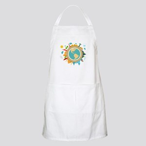 World Travel Landmarks Apron