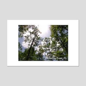 Fisheating Creek -Treetops Mini Poster Print