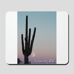 WTM -Cactus & Moon Mousepad