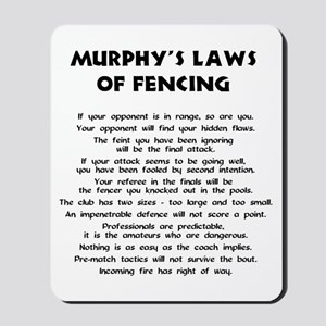 Murphy's Law - Mousepad