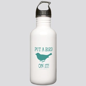 Put A Bird On It Stainless Water Bottle 1.0L