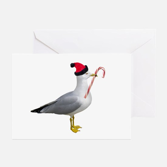 Santa Seagull Greeting Cards (Pk of 20)