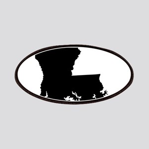 Louisiana State Shape Outline Patch