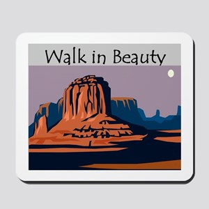 Walk in Beauty Mousepad