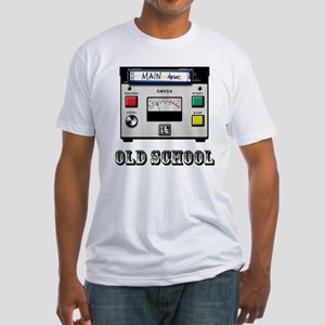 Cart Machine Fitted T-Shirt