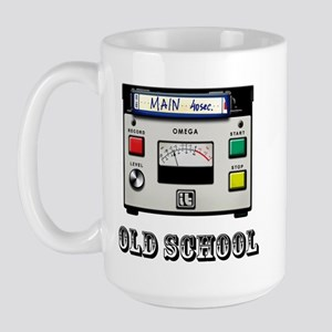 Cart Machine Large Mug
