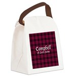 Tartan - Campbell of Loch Laine Canvas Lunch Bag