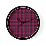 Tartan - Campbell of Loch Laine Wall Clock