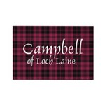 Tartan - Campbell of Loch Laine Rectangle Magnet (
