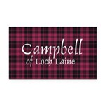 Tartan - Campbell of Loch Laine Rectangle Car Magn